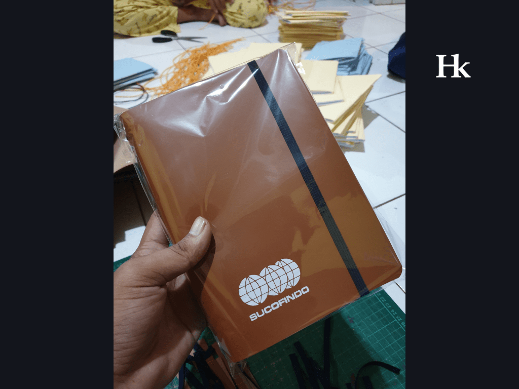 5 - hibrkraft handmade journal - jurnal dan agenda kulit - buku catatan custom